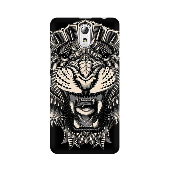 Abstract Tiger Lenovo Vibe P1M Animal Mobile Cover Fully Funky