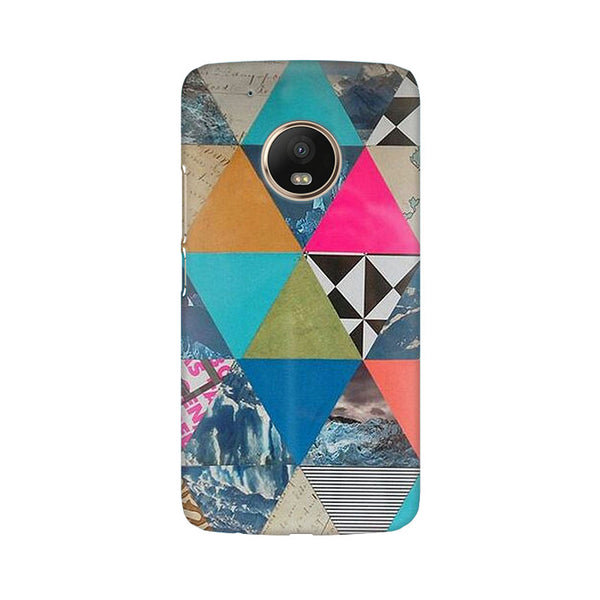 Abstract Fusion Hex Moto G5 Plus Abstract Mobile Cover Fully Funky