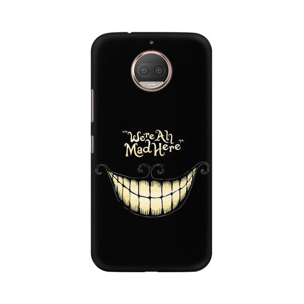 All Are Mad Moto G5s  Sarcasm Mobile Cover Fully Funky