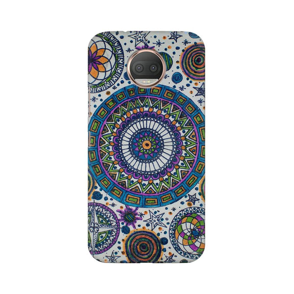 Abstract Colorful Moto G5s Plus Dil Se Desi Mobile Cover Fully Funky