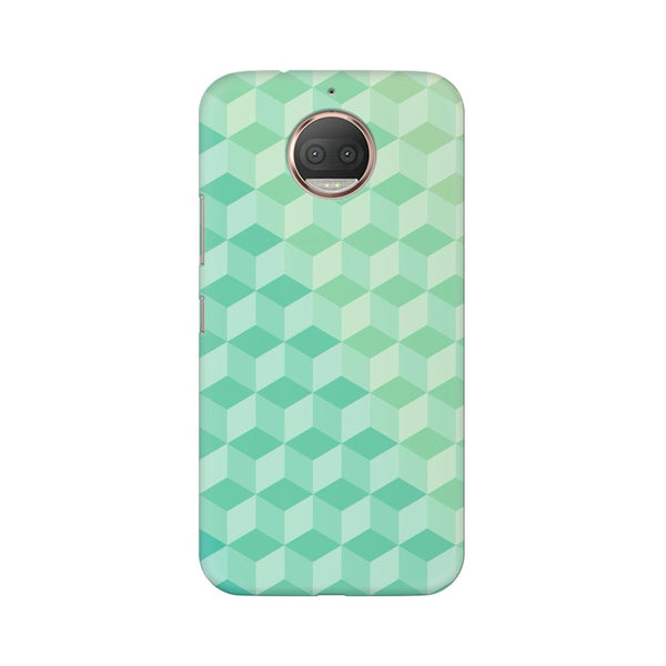 3D Cubes Moto G5s Plus Abstract Mobile Cover Fully Funky