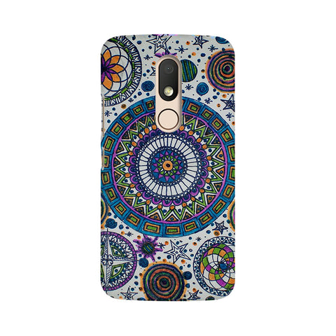 Abstract Colorful Moto M Dil Se Desi Mobile Cover Fully Funky