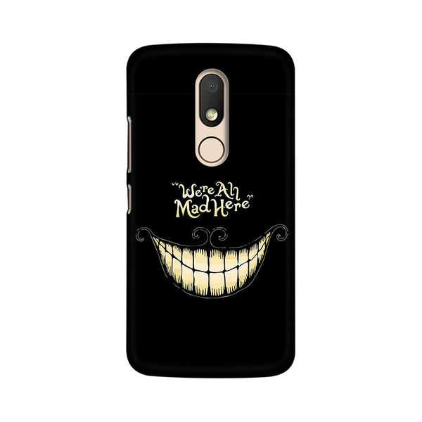 All Are Mad Moto M Sarcasm Mobile Cover Fully Funky
