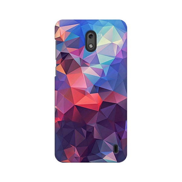 Abstract Fusion Triangle Nokia 2 Abstract Mobile Cover Fully Funky