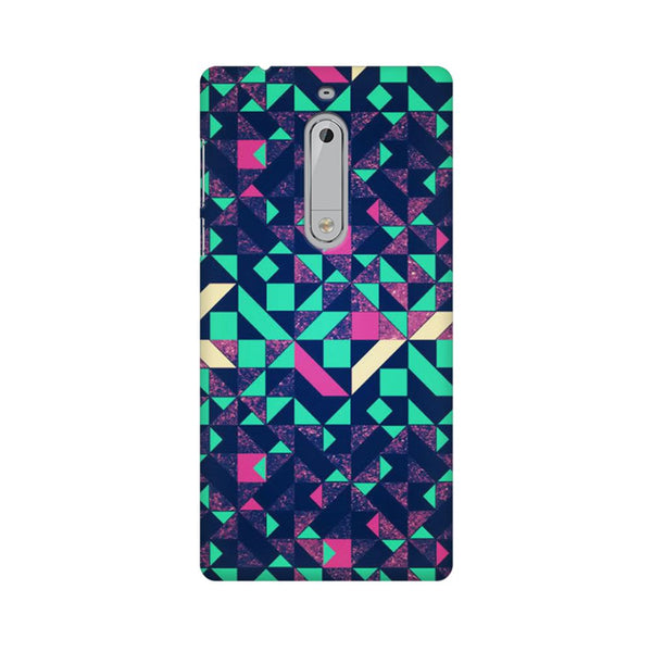 Abstract Wookmark Nokia 5 Abstract Mobile Cover Fully Funky