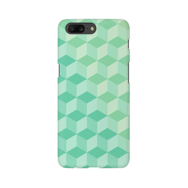 3D Cubes OnePlus 5 Abstract Mobile Cover Fully Funky