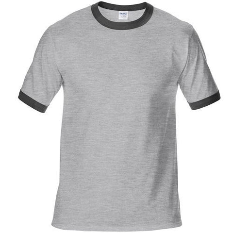 100% Cotton Solid Plain Men T-Shirt Fully Funky