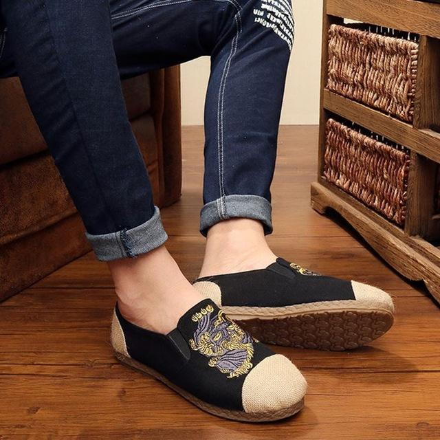 Tang inspired casual shoes