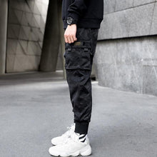 Load image into Gallery viewer, Dark carbon cargo pants