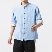 Load image into Gallery viewer, Solid Tang short sleeve shirt