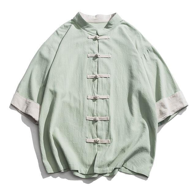 Solid Tang short sleeve shirt
