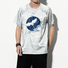 Load image into Gallery viewer, Velvet crane T-shirt