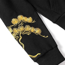 Load image into Gallery viewer, Golden branch crane hoodie