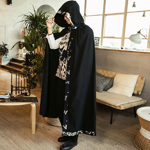 Protege X hooded coat cape
