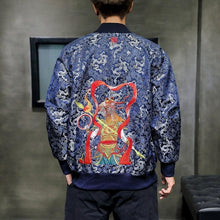 Load image into Gallery viewer, Warrior prince bomber jacket