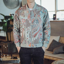 Load image into Gallery viewer, Tropic birds bomber jacket