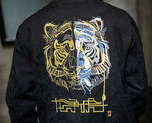 Load image into Gallery viewer, 2 face tiger bomber jacket