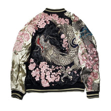 Load image into Gallery viewer, Hyper premium sakura dragon sukajan jacket
