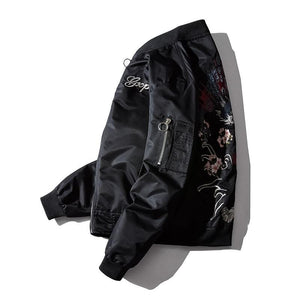 Dragon tiger bomber jacket
