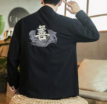 Load image into Gallery viewer, Master kanji kimono jacket
