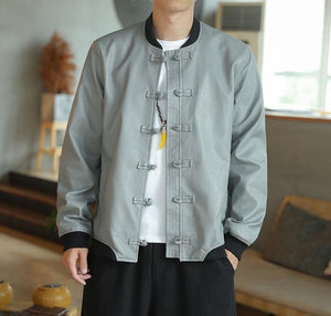 Solid stealth Tang Dynasty jacket