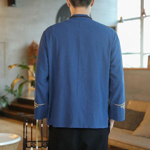 Cloud wave Tang dynasty jacket