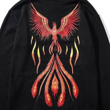 Load image into Gallery viewer, Phoenix flame hoodie