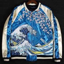 Load image into Gallery viewer, Hyper premium 2 sided wave sakura sukajan jacket