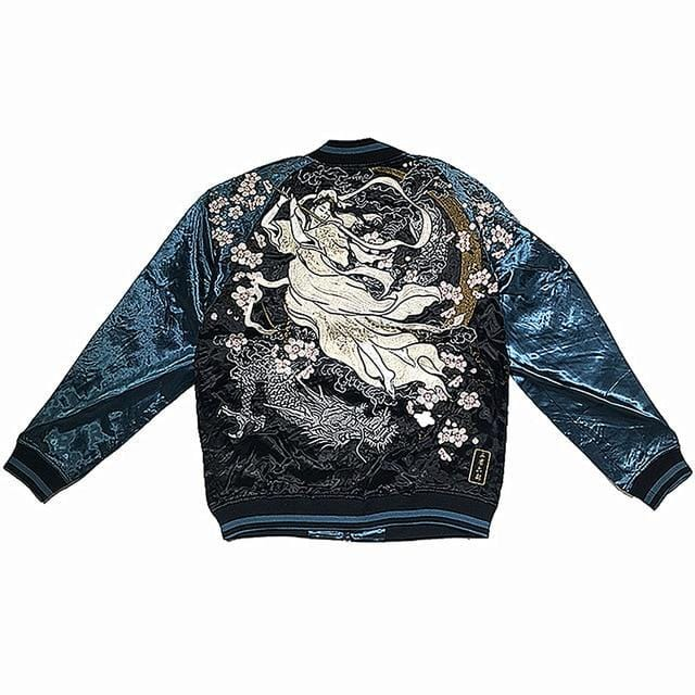 Hyper premium ancient beauty sukajan jacket