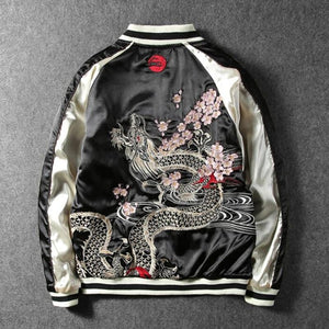 Premium 2 sided carp X  dragon sukajan jacket
