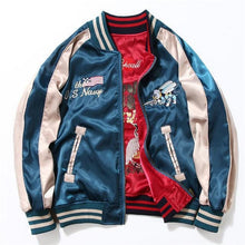 Load image into Gallery viewer, 2 sided East meets West Sukajan jacket