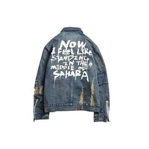 Sahara vintage denim jacket