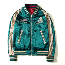 Load image into Gallery viewer, 2 sided East meets West Sukajan jacket Premium
