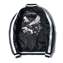 Load image into Gallery viewer, Japan crane embroidery sukajan jacket