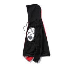 Load image into Gallery viewer, 2 color Gothic face pullover hoodie