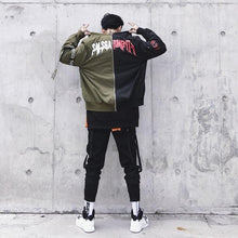 Load image into Gallery viewer, Urban 2 color bomber jacket