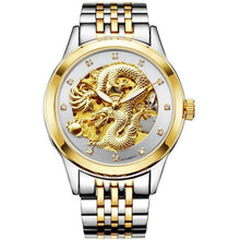 Load image into Gallery viewer, Golden dragon automatic watch