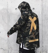 Load image into Gallery viewer, Urban X camo trench coat