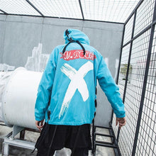 Load image into Gallery viewer, Urban X hooded jacket