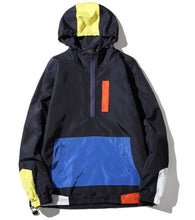 Load image into Gallery viewer, Urban patched style hooded jacket