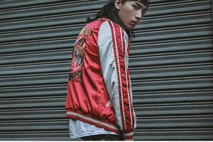 Regroup 2 sided sukajan jacket Premium