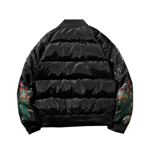 Ancient Chinese design bomber jacket