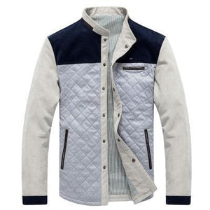 Casual thick baseball style jacket