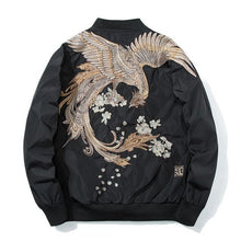 Load image into Gallery viewer, Mystical bird V2 bomber jacket