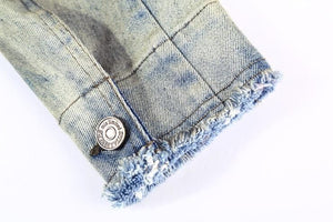 Vintage faded denim jacket