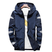 Load image into Gallery viewer, Feather lit windbreaker jacket