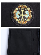 Load image into Gallery viewer, Tang Dynasty embroidery slim fit long jacket