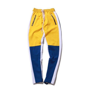 Multi-color athletic sweat pants