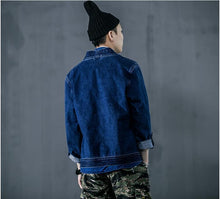 Load image into Gallery viewer, Kanji denim jacket