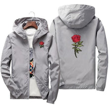 Load image into Gallery viewer, Rose design windbreaker jacket ver.1